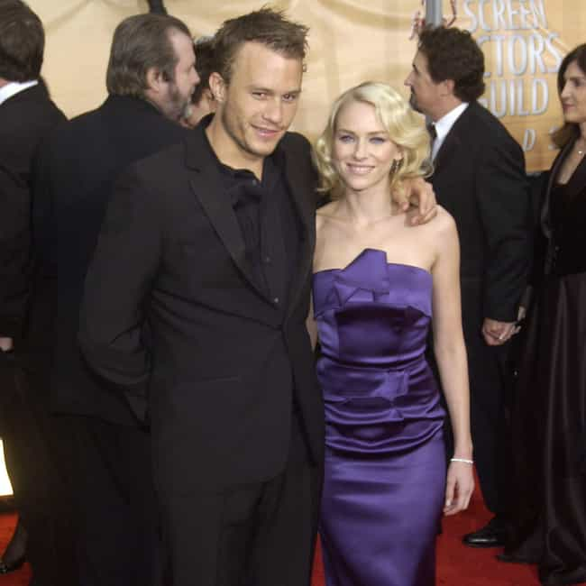 Heath Ledger is listed (or ranked) 3 on the list The Star-Studded Dating History Of Naomi Watts