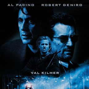 Heat is listed (or ranked) 5 on the list The Best Al Pacino Movies