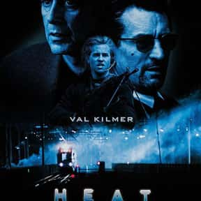 Heat is listed (or ranked) 7 on the list The Best Gangster Movies of the 1990s