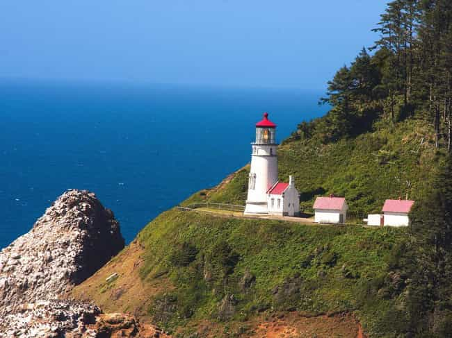 Heceta Head Light is listed (or ranked) 2 on the list The Most Awe-Inspiring Lighthouses in the World