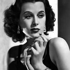Hedy Lamarr is listed (or ranked) 21 on the list List of Famous Pin-up Girls