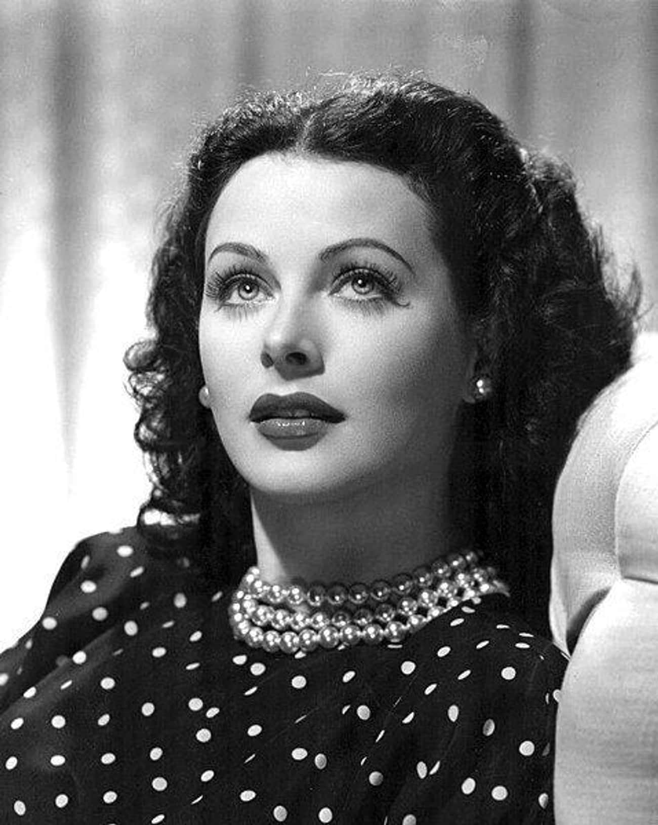 Hedy Lamarr is listed (or ranked) 3 on the list The Most Beautiful Famous Women of the Last 100 Years
