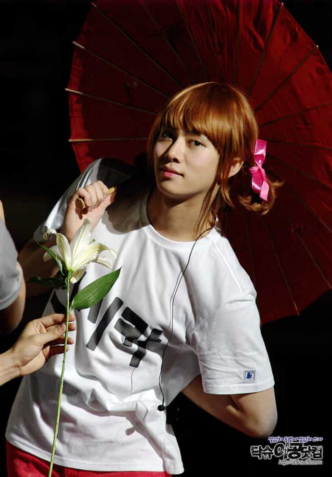 Kim Heechul is listed (or ranked) 3 on the list Male Kpop Idols Dressed Like Girls
