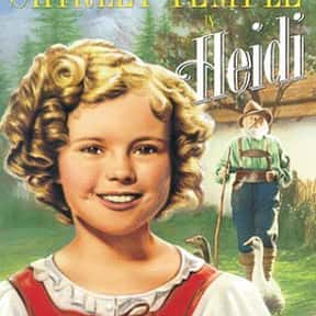 Heidi is listed (or ranked) 21 on the list Movies Based On Books You Should Have Read In 4th Grade