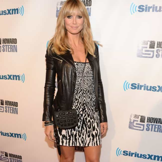 Heidi Klum is listed (or ranked) 4 on the list The 27 Hottest Chicks at Howard Stern's 60th Birthday Party