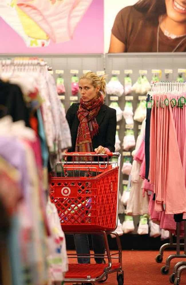 Heidi Klum is listed (or ranked) 4 on the list 20 Celebrities Who Shop At Target