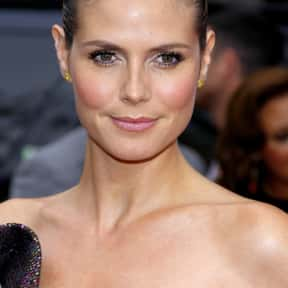 Heidi Klum is listed (or ranked) 2 on the list List of Famous TV Personalities