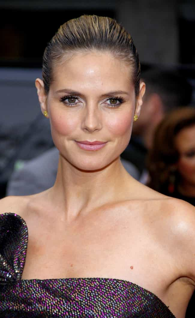 Heidi Klum is listed (or ranked) 3 on the list Famous Female Supermodels