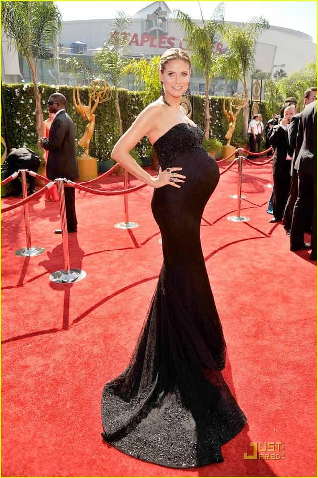 Heidi Klum is listed (or ranked) 3 on the list The Hottest Pregnant Women of All Time
