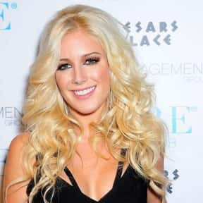 Heidi Montag is listed (or ranked) 18 on the list List of Famous TV Personalities