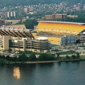 Heinz Field is listed (or ranked) 13 on the list The Best NFL Stadiums