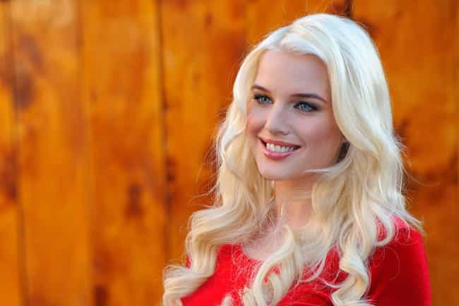 Helen Flanagan is listed (or ranked) 3 on the list Women You Would Want to See in a TV Remake of Baywatch