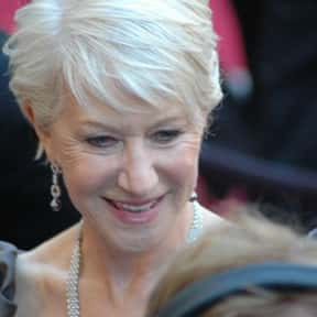 Helen Mirren is listed (or ranked) 2 on the list 17 Stars Who Are Only One Award Away From Snagging An EGOT