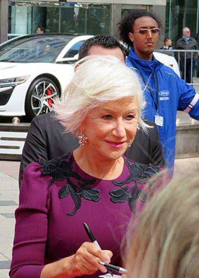 Helen Mirren is listed (or ranked) 4 on the list Celebrities Who Had Weird Jobs Before They Were Famous