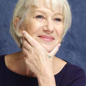 Helen Mirren is listed (or ranked) 13 on the list The Best Female Celebrity Role Models