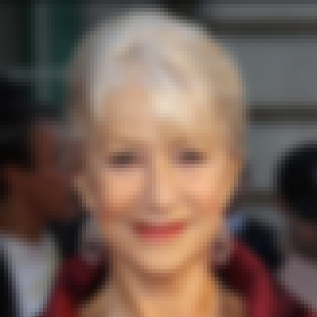 Helen Mirren is listed (or ranked) 4 on the list Celebrities Who Live in Italy