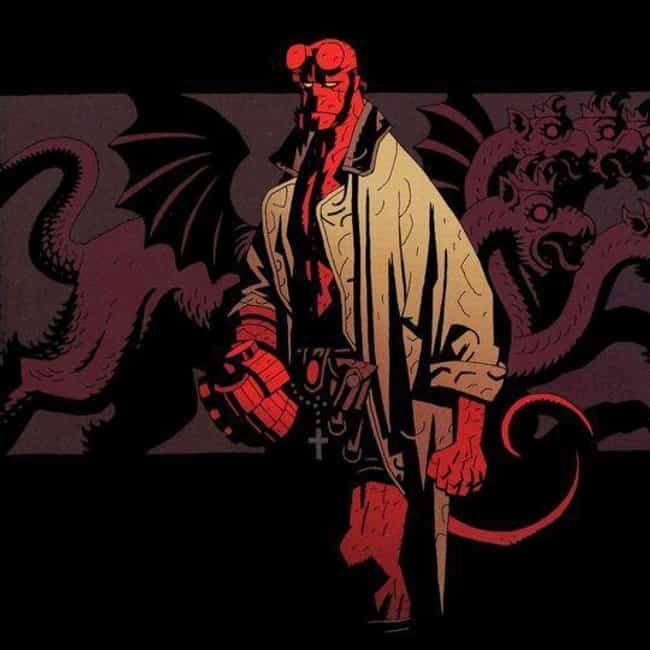 Hellboy is listed (or ranked) 4 on the list Half-Human Hybrid Heroes