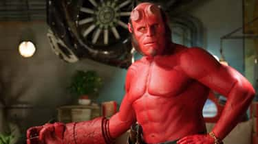 Hellboy - 'Hellboy' is listed (or ranked) 1 on the list Photos Of Ron Perlman's Most Dramatic Transformations