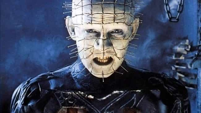 Hellraiser is listed (or ranked) 4 on the list 14 Horror Movie Moments That Were Unscripted