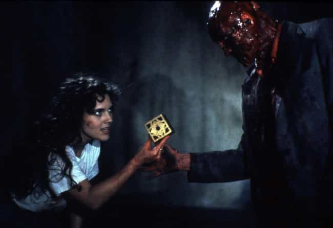 Hellraiser is listed (or ranked) 7 on the list 20 Most Essential Female-Led Horror Films