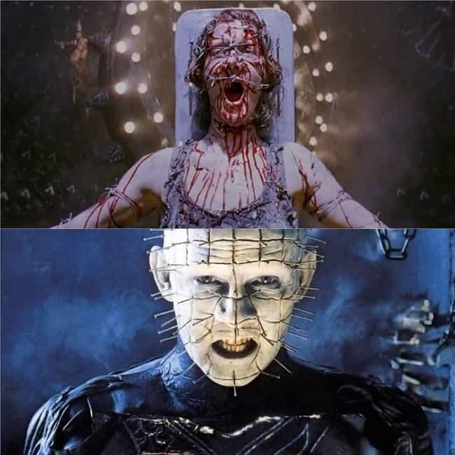 Hellraiser is listed (or ranked) 1 on the list 12+ Horror Movie Fan Theories That Make Your Favorites Even Scarier
