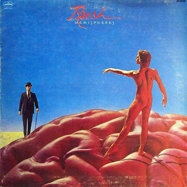 Hemispheres is listed (or ranked) 3 on the list The Best Rush Albums of All Time