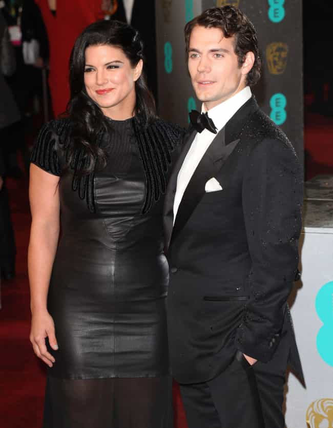 Henry Cavill is listed (or ranked) 2 on the list All The Men Gina Carano Has Dated