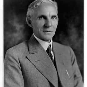 Henry Ford is listed (or ranked) 6 on the list Famous People Named Henry