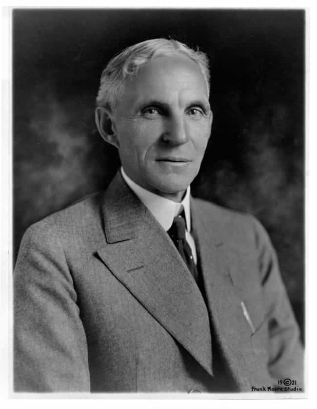 Henry Ford is listed (or ranked) 1 on the list Famous Male Industrialists