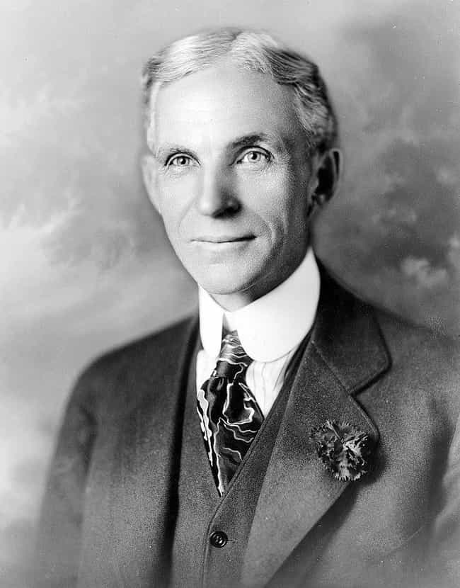 Henry Ford is listed (or ranked) 10 on the list 26 Famous ISTJs