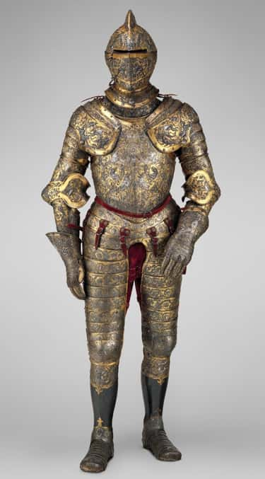 Parade Armor Of Henry II Of Fr is listed (or ranked) 1 on the list Fascinating Artifacts From The Renaissance Era That Made Us Say 'Whoa'