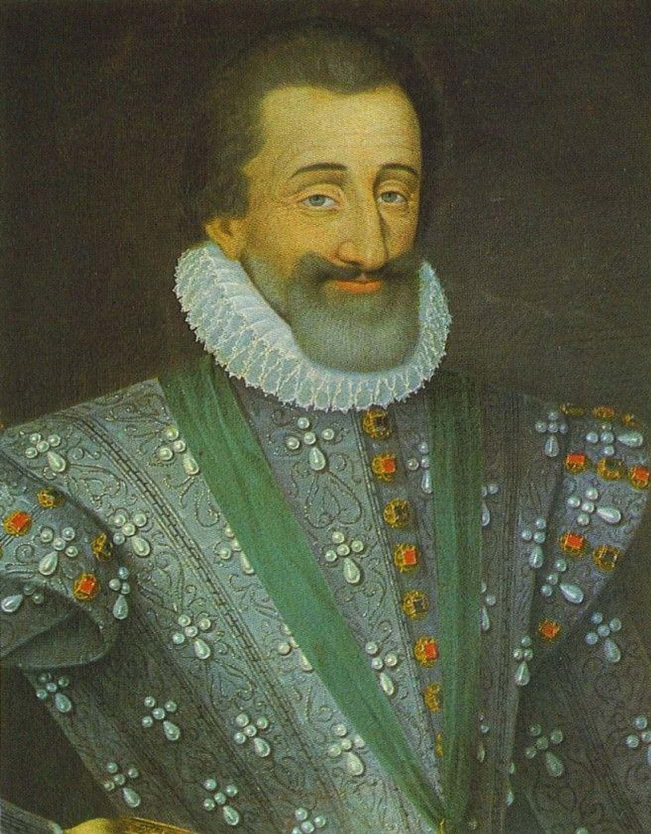 King Henry Of Navarre's Nuptials Turned Into A Massacre