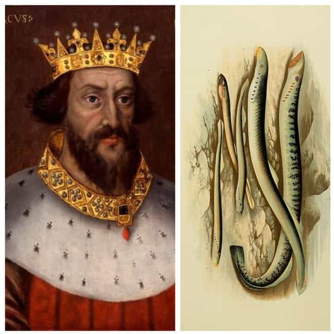 Henry I of England is listed (or ranked) 4 on the list The Favorite Foods Of 15 Historical Figures