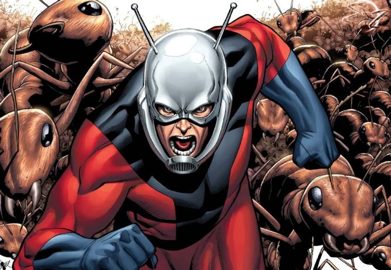 Ant-Man (Henry Pym) is listed (or ranked) 2 on the list List of All Stan Lee Comic Book Characters