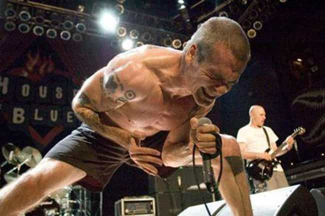 Henry Rollins is listed (or ranked) 4 on the list Famous Musicians Who Could Never Seem To Afford Shirts