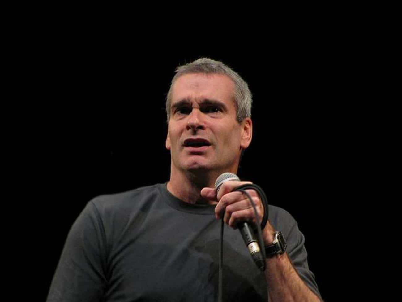 Henry Rollins Has an Acoustic  is listed (or ranked) 3 on the list 16 Rare and Peculiar Things Your Favorite Celebrities Own