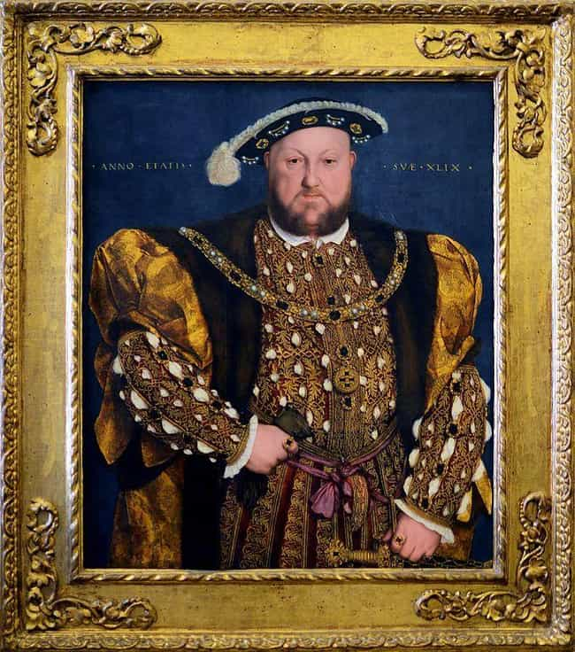 Henry VIII of England is listed (or ranked) 1 on the list Major Historical Leaders Who Were Debilitated By Gout, 'The Disease Of Kings'