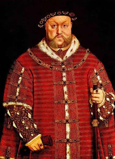 Henry VIII Of England Is Robert Baratheon