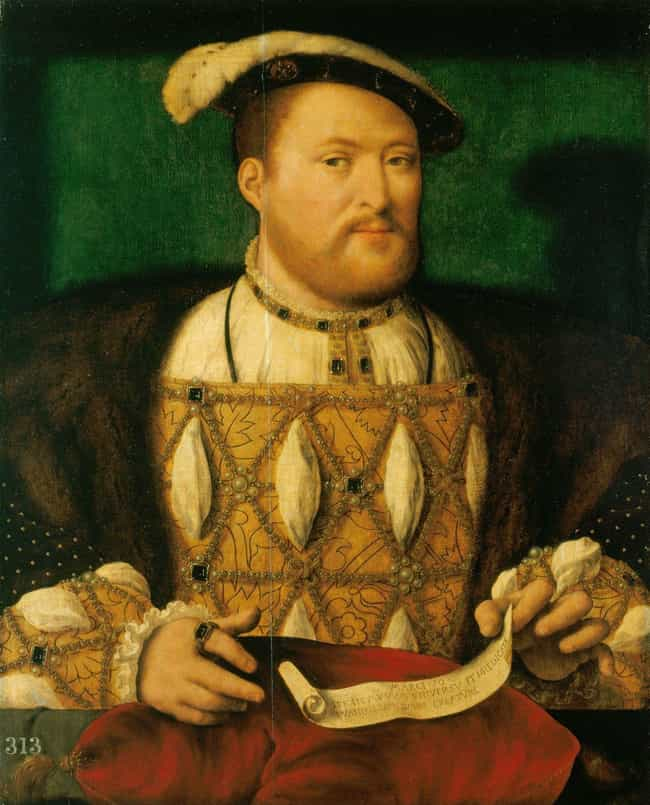 Henry VIII of England is listed (or ranked) 2 on the list 6 Of The Most Dysfunctional Romantic Relationships In History