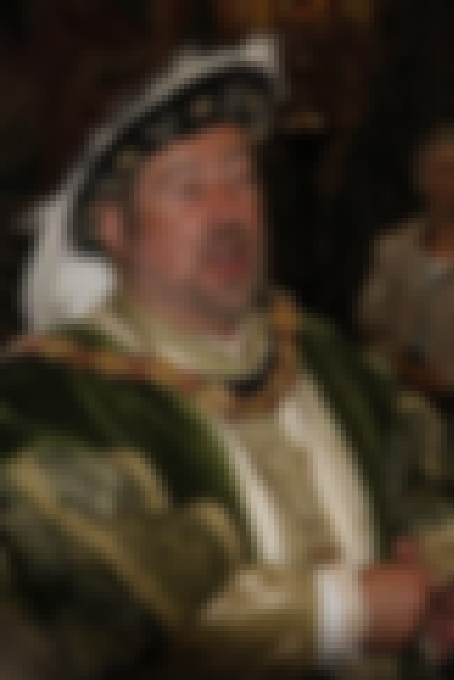 Henry VIII of England is listed (or ranked) 3 on the list Famous Male Monarchs