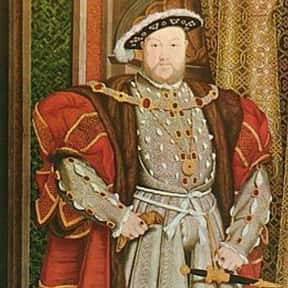 Henry VIII of England is listed (or ranked) 9 on the list Famous People Named Henry