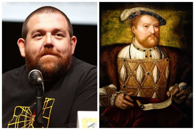 Henry VIII of England is listed (or ranked) 2 on the list English Royals And The Actors Who Should Play Them In A Movie