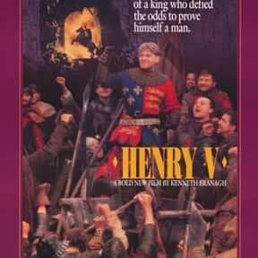 Henry V is listed (or ranked) 17 on the list The Best Medieval Movies