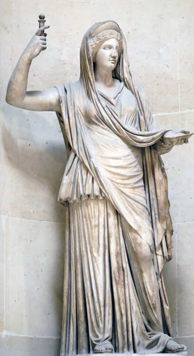 Hera is listed (or ranked) 4 on the list Which Greek God Are You, According To Your Zodiac Sign?