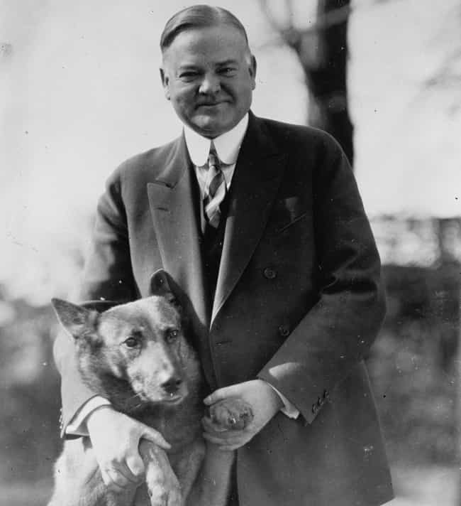 Herbert Hoover is listed (or ranked) 8 on the list 13 Presidents Who Lived Wild Lives Before Becoming President