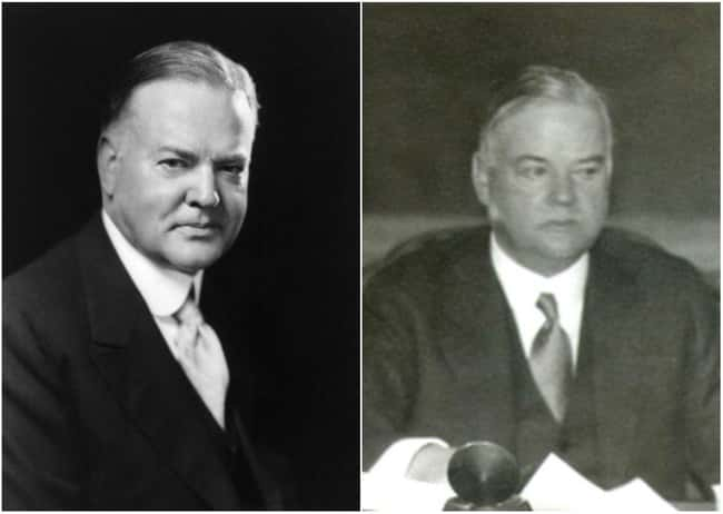 Herbert Hoover is listed (or ranked) 10 on the list U.S. Presidents Before and After Major Historical Events