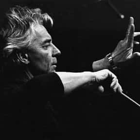 Herbert von Karajan is listed (or ranked) 14 on the list List of Famous Music Directors