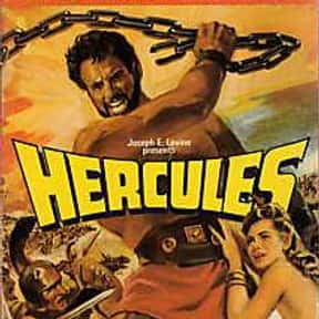 Hercules is listed (or ranked) 6 on the list The Best Sword and Sandal Films Ever Made