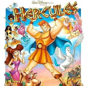 Hercules is listed (or ranked) 14 on the list The Best Disney Animated Movies of All Time