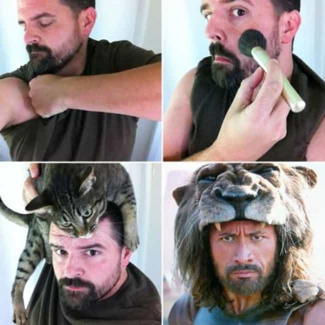 Hercules is listed (or ranked) 3 on the list 60+ Unbelievable #MakeupTransformations